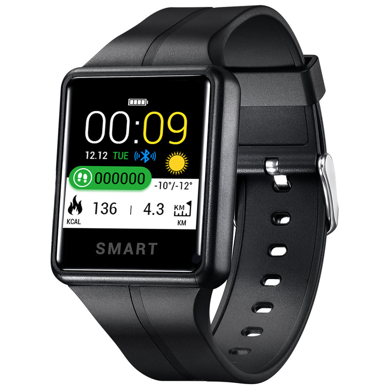 2020 New Smart Bracelet Sw06 Touch Screen Bluetooth Heart Rate Blood Pressure Ip68 Smart Sports Bracelet Manufacturer