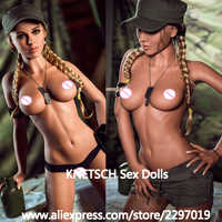 KNETSCH 166cm Sex doll Full TPE Metal skeleton Lifelike breast Vagina Anus Oral Real Silicone love doll for men Adult Sexy Dolls