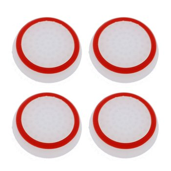4PCS Thumb Stick Grips Caps For Playstation 4 Ps4 Pro Slim Silicone Analog Thumbstick Grips Cover For Xbox Ps3 Ps4 Accessories image