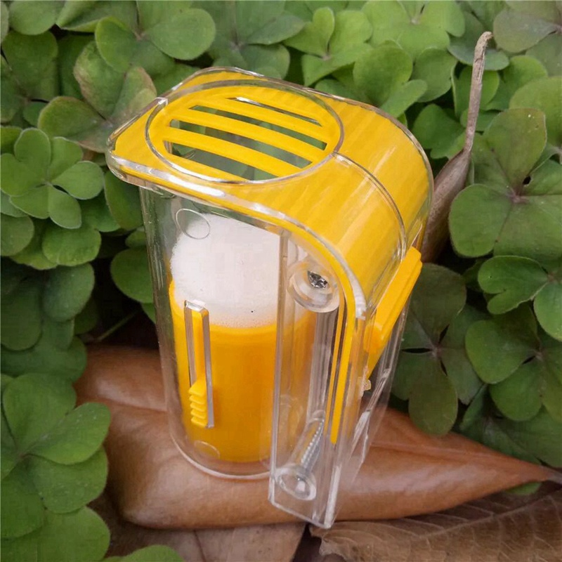1PC Garden Beekeeper Queen Bee Catcher Bee Queen Marking Catcher Plastic One Handed Marker Bottle Plunger Plush Beekeeper Tools