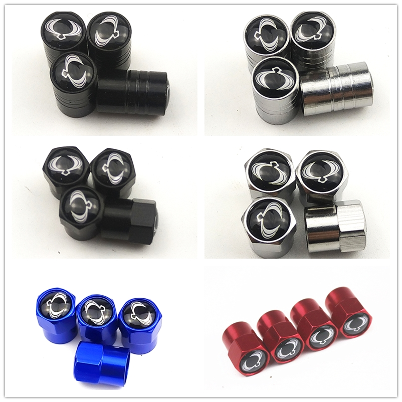 2019 New Wheel Caps Theftproof Metal Car Wheel Tires Valves Tyre Stem Air Valve Caps Airtight Cove For Ssangyong Car Accessories