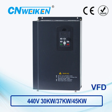 WK600 Vector Control frequency converter 440V Three-phase variable frequency inverter for motor 30kw/37kw/45kw frequency drive 440v 15kw three phase low power ac drive for water pump