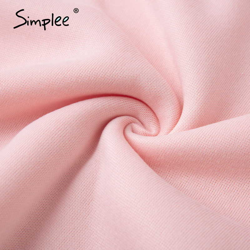 Dresy damskie bawełniane w kolorze pudrowego różu zestaw z bluzą z kapturem 5