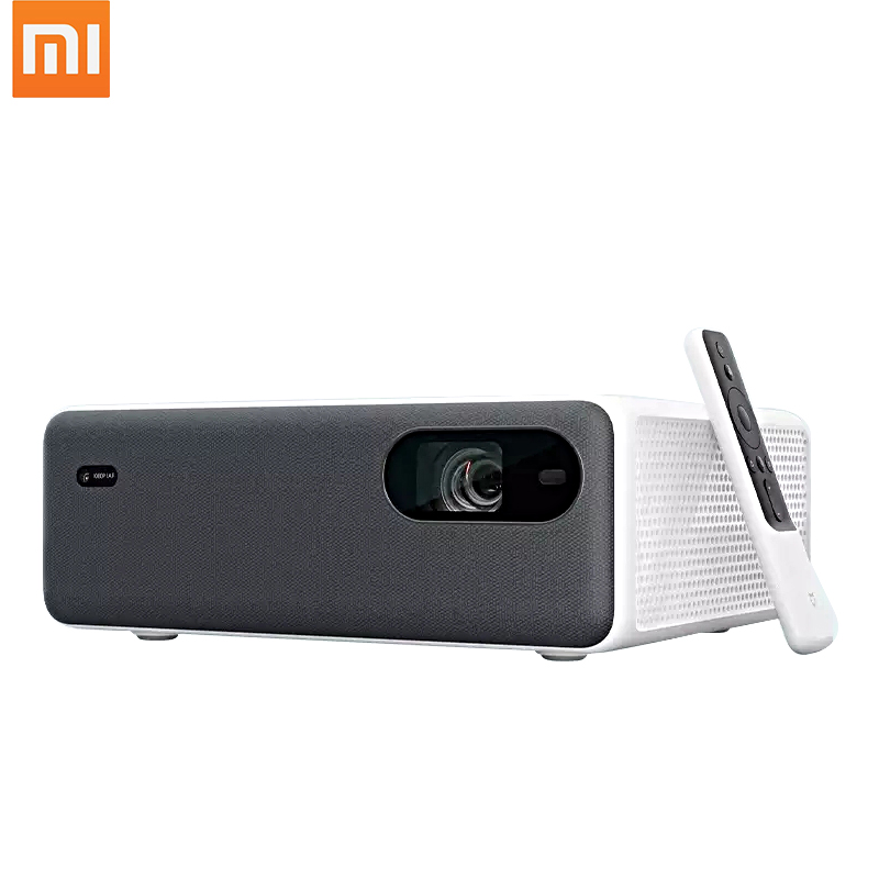 New XIAOMI Mijia AI Laser Projector 4k 3D 2400 Lumens 2+16GB Wifi bluetooth 150 Inch Screen Dual 10W Speaker Home Theater
