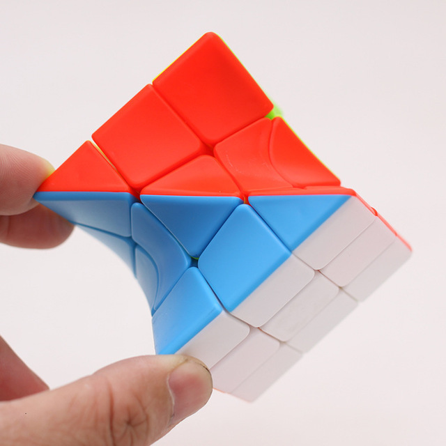 Z-Cube 3x3x3 Neo Torsion Twist magic cube puzzle Zcube 3x3x3 Intelligence Twisted Educational Cool Toys 5