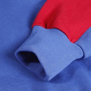Image 3 - Толстовка в стиле Харадзюку, с цветными блоками, Мужская Уличная Толстовка в стиле хип хоп, винтажная толстовка с капюшоном на молнии, хлопковая, флисовая, зимняя, осенняя, 2020
