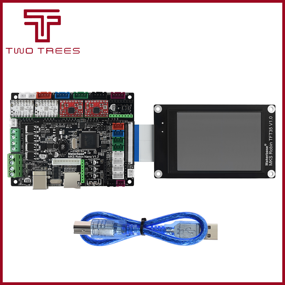 3D printer board STM32 MKS Robin Nano board V1 2 Hardware open source  support Marlin2 0  Support with 3 5 inch touch screen sap