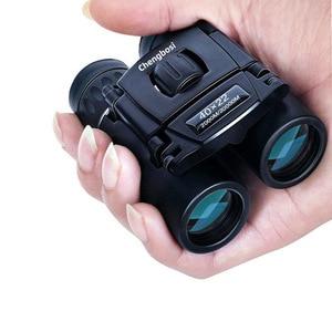 Image 1 - 40x22 Compact Zoom Binoculars Long Range 2000m Folding HD Powerful Mini Telescope BAK4 FMC Optics Hunting Sports Camping Trave