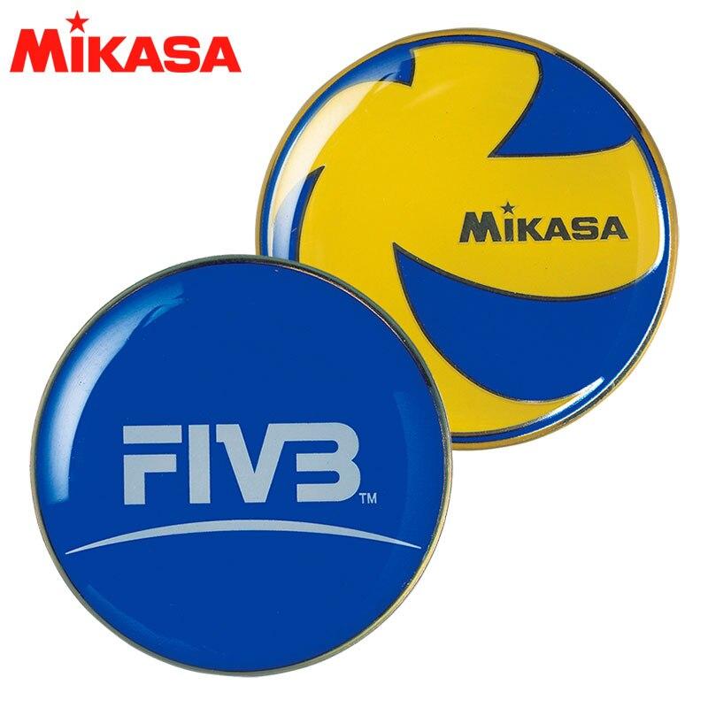 Original Japan MIKASA Referee Metal Tossing Coin Professional Volleyball Training Major Game Equipment Venue Picker