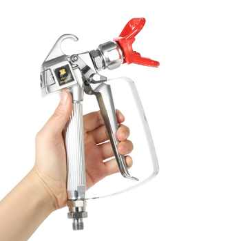3600PSI High Pressure Airless Paint Spray Gun Airbrush+517 Spray Tip+Nozzle Guard for Wagner Titan Pump Spraying Machine - DISCOUNT ITEM  30 OFF All Category