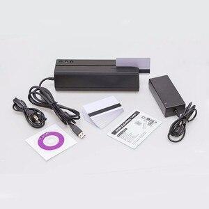 MSR605 карта с магнитной полосой писатель кодировщик usb США plug программное обеспечение совместимо с MSR606 msrx6 msrx6bt