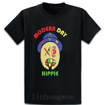 Modern Day Hippie T Shirt Short Sleeve Gift Slim Comfortable Summer Style Size Over Size S-5XL Original Knitted Shirt