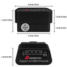 WIFI ELM327 skaner OBD2 narzędzia diagnostyczne dla Mitsubishi Outlander Lancer Pajero ASX I200 ELM 327 kod obdii czytnik skanowania Adapter