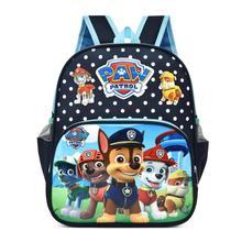 Plecak szkolny z kreskówką Psi Patrol dla dzieci torba postać Skye Everest Marshall Ryder Chase nadruk słodka animowana przedszkole do zabawy tanie tanio CN (pochodzenie) Lalki PAW PATROL Movie TV cloth 3yeas old Unisex Paw patrol bag Print Anime Backpack Kindergarten Children School Toy Bag