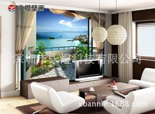 "Large Mural Wall the Cool Wallpaper/Digital High-definition Balcony Mural ""3D Hot Selling Mural(China)"
