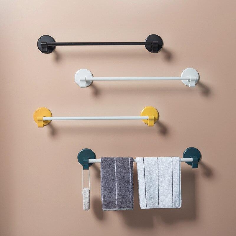 Дыропробивная полка для хранения в ванной комнате, бытовые настенные вешалки, вешалка для полотенец, скандинавский минималистичный