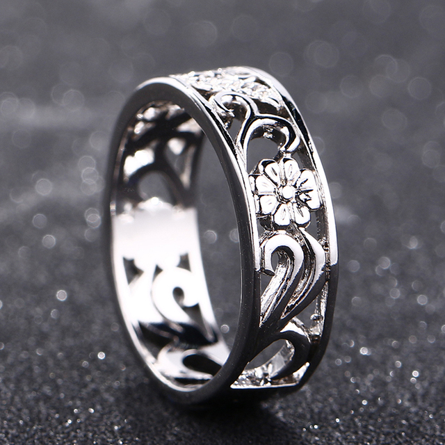 Bague Ringen Top Brand 925 Silver Jewelry Rings For Women Anniversary Circle Couple Ring Size 6-10 Wholesale Fine Jewlery Gifts 4