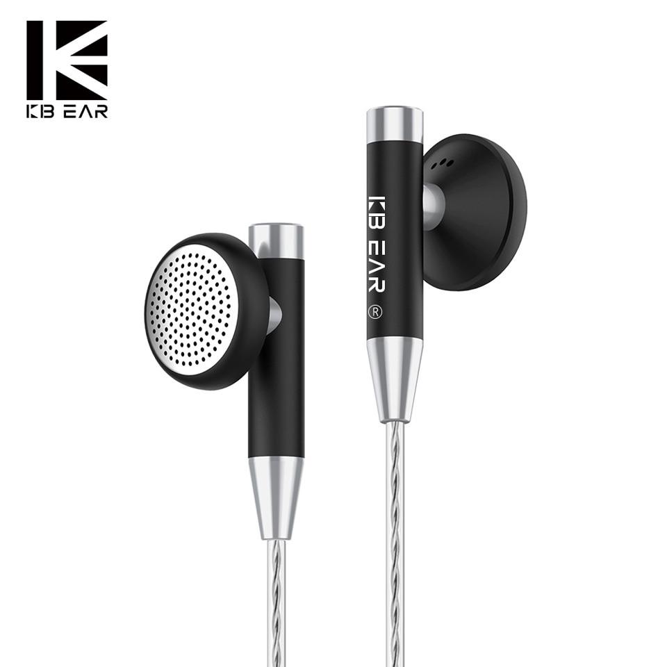 06 אוזן נייט ב Wired מתכת מעטפת האוזניות Kbear Hifi אוזניות אוזניות עם מצופים כסף בכבלים KB 06 אוזניות לסמארטפון Pc (1)