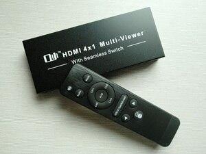 Image 3 - 1080P 4x1 HDMI multi viewer HDMI Quad Screen w czasie rzeczywistym multi viewer rozdzielacz HDMI jednolity przełącznik z sterowanie ir