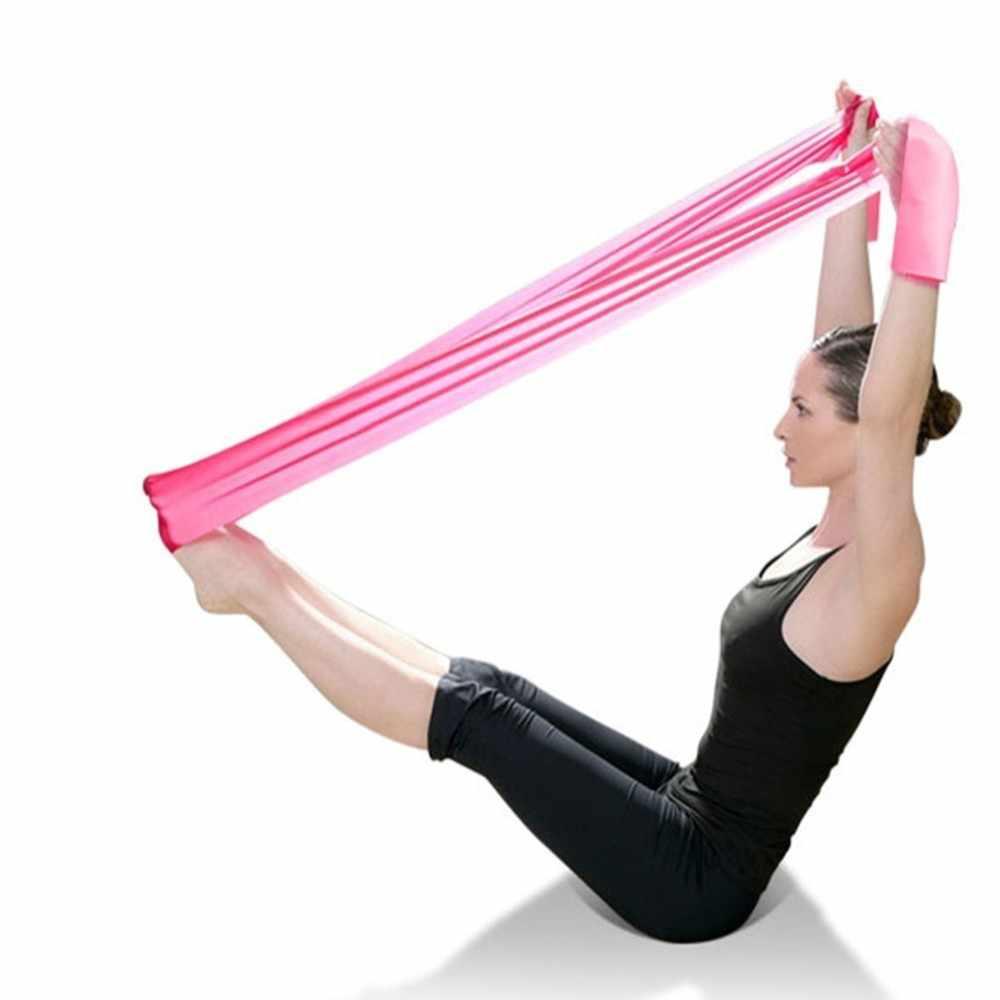 Fitness Apparatuur Elastische Resistance Bands Yoga Workout Sliming gewichtsverlies Elastische Bands Home Pull Band Gym Oefening Tool