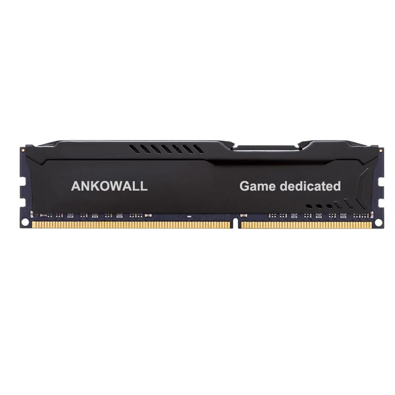 Ankowall DDR3 8GB/4GB 1600MHz/1333MHz Desktop RAM Memory 7