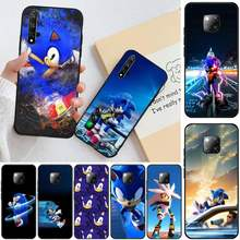 ByLoving Sonic The Hedgehog Appena Arrivati Nero Cassa Del Telefono Delle Cellule Per Honor 20 20lite view20 7C 8C 7A 8A 10i 20i GIOCO 9X Pro(China)