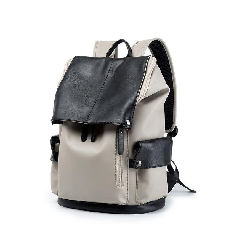 Sac à dos blanc sac à dos homme sac mode sac ordinateur sac à dos