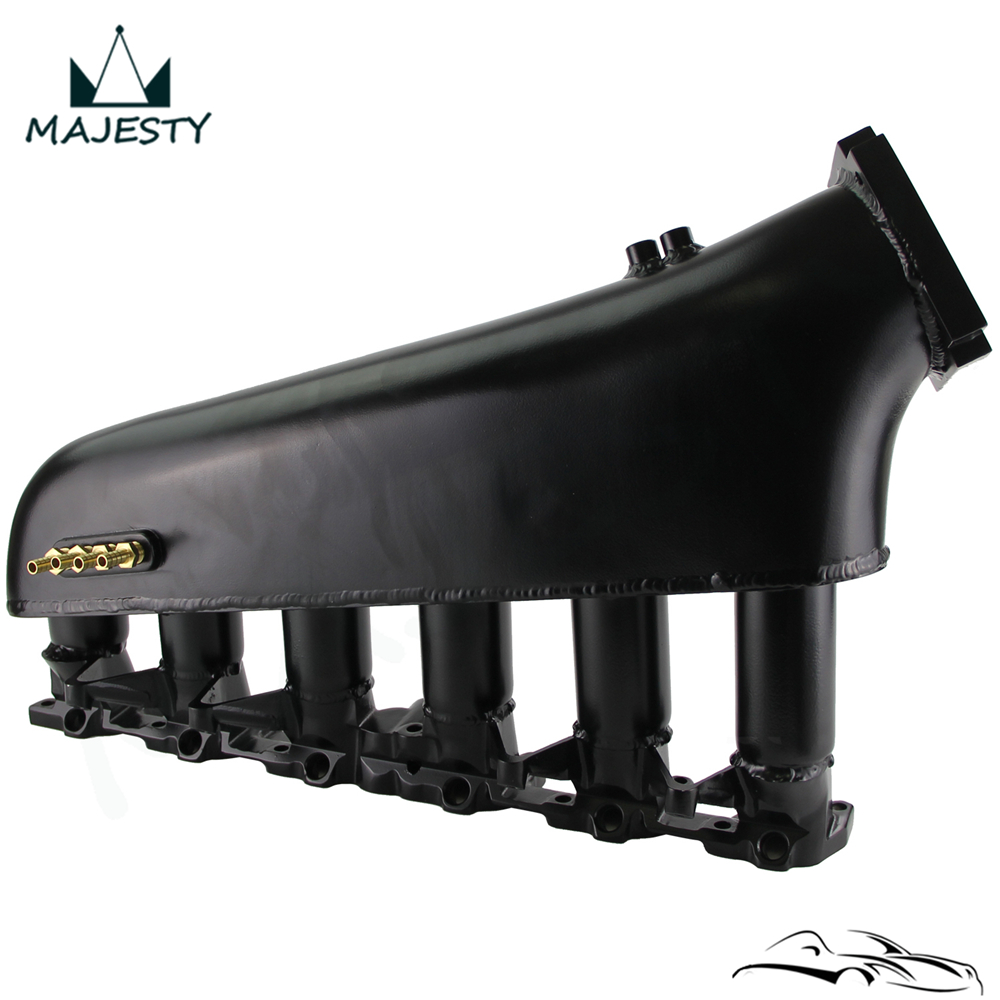 New Intake Manifold Plenum Fits For BMW E30 M20 320i / 325i 1987-1991 Black image