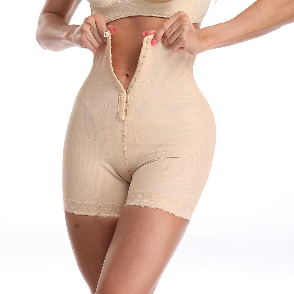 Rompers ผู้หญิง Jumpsuit Body Shape เอวเทรนเนอร์ Corrective หลังคลอด Tummy Slimming Abdomen ชุดบอดี้สูทพลัสขนาด 6XL Shapewear