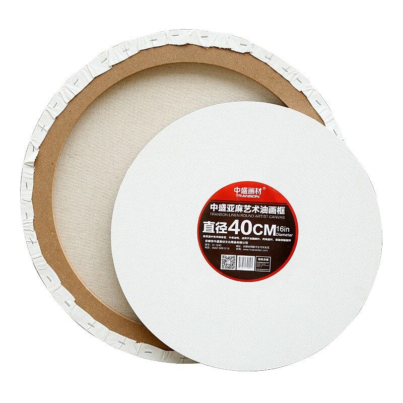 Производители оптом круг растягивается холст льняная рамка для картины маслом специальная форма картина рамка 1. 8 см густая масляная краск...