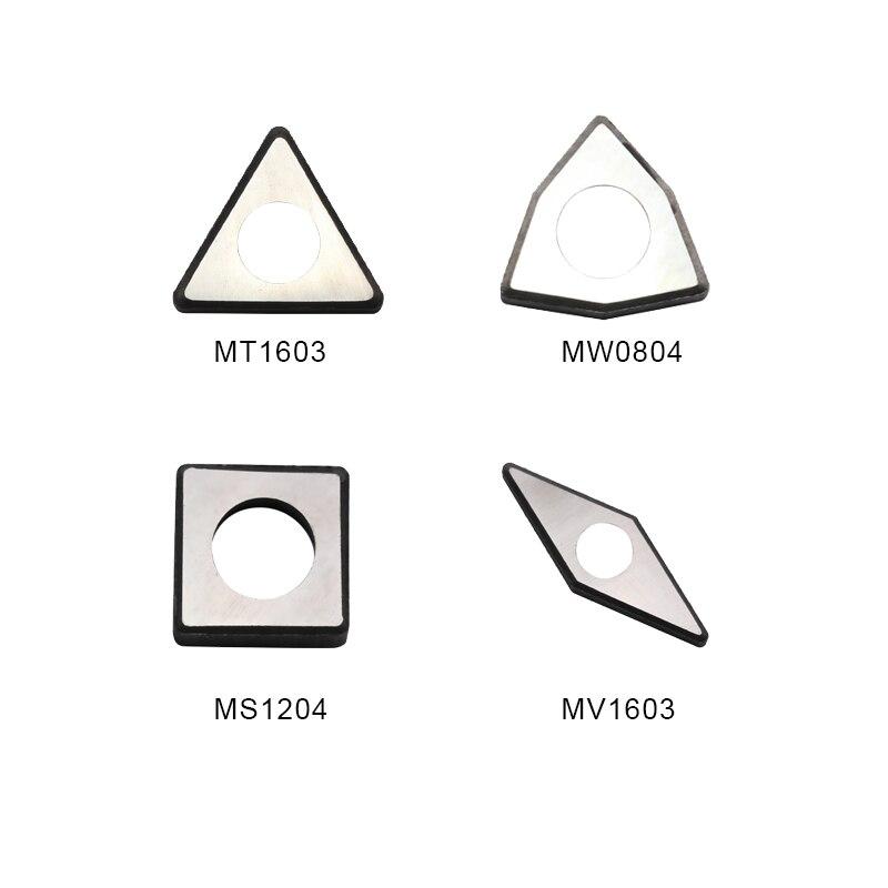 10pcs MC1204 MT1603 MT1604 MS1204 MV1603 MW0804 MD1504 MD1506 Carbide Insert Shim Seats Screw Knife Pad CNC Turning Tool Holder