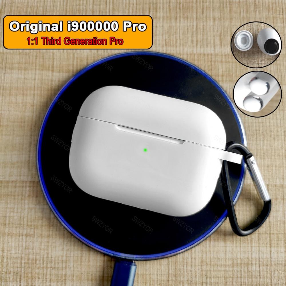 I900000 Pro Tws Wireless Earphone 1:1 Air 3 Pressure Sensor Bluetooth Earphones Earbuds H1 Chip Pk I500 I1000 I9000 I50000 Tws