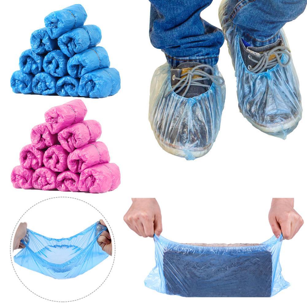100pcs/pack disposable pink socks