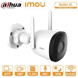 DAHUA Wi-Fi IP камера наружного обнаружения человека 98ft ночное видение Встроенная точка доступа запись звука ONVIF камера видеонаблюдения CCTV