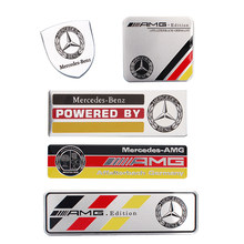 Pour Mercedes Benz AMG Édition Logo Autocollant De Voiture W202 W203 W204 C63 W210 W213 W212 W463 W464 G63 G55 W164 W176 GLA CLS SL ML Badge(China)