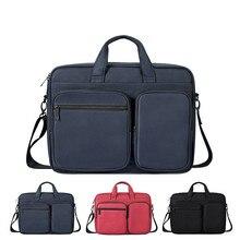 Большая вместительная сумка на плечо для ноутбука macbook air 13 сумка для ноутбука macbook pro 13 funda portatil 15,6 funda portatil 14 Новинка