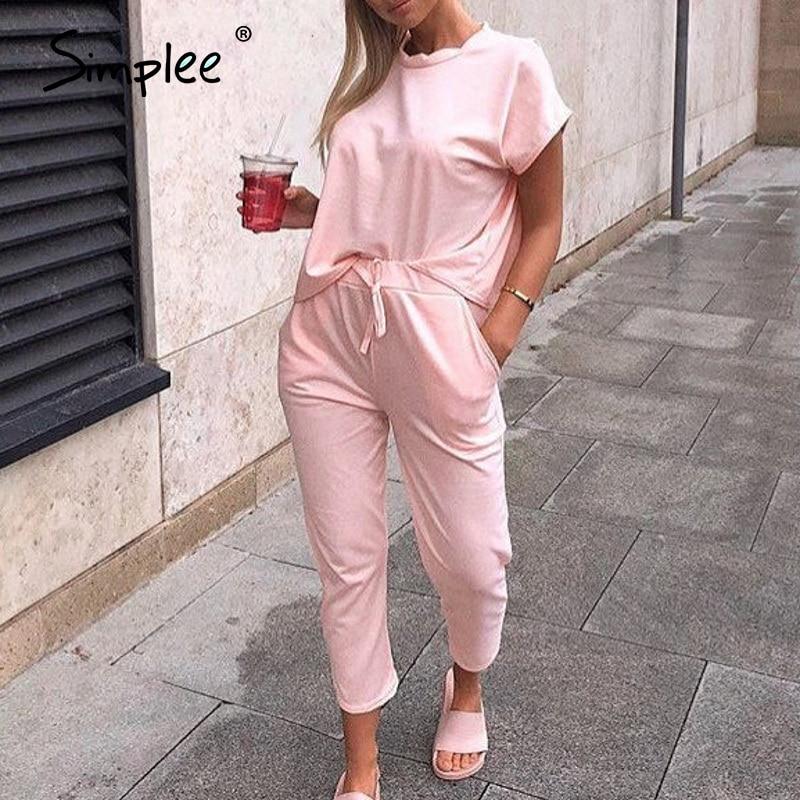 Simplee Spring Summer Jumpsuits Women Slash Neck Bodysuits Solid Pockets Jumpsuit Beam Feet Streetwear 2020 Bandage Rompers