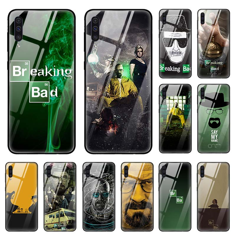 Breaking Bad TV <font><b>Case</b></font> for <font><b>Samsung</b></font> Galaxy A50 A70 A40 A30 s A10 A20s A51 A71 J4 J6 Plus <font><b>M30s</b></font> Tempered <font><b>Glass</b></font> Phone Coque Sac image