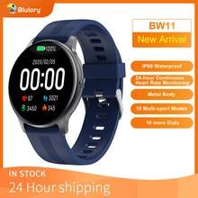 Blulory Смарт-часы BW11 Bluetooth спортивные умные часы, отображающие сердцебиение 5ATM Водонепроницаемый напоминание уведомления о вибрации
