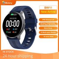 Blulory-reloj inteligente para hombre y mujer, accesorio de pulsera resistente al agua IP68 con control del ritmo cardíaco y del sueño, compatible con Android e IOS