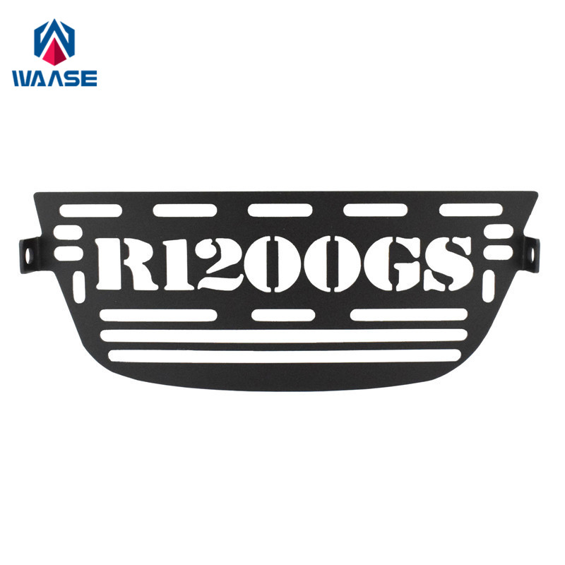 waase For BMW <font><b>R1200GS</b></font> ADV R1200 GS Adventure 2006 2007 2008 2009 2010 <font><b>2011</b></font> 2012 Aluminium Oil Cooler Guard Cover Protector image