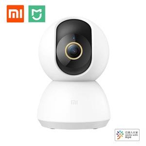 Newest Xiaomi Smart Camera PTZ Version 2K 1296P F1.4 360 Panorama Humanoid Monitoring Infrared Night Vision Work With Mijia