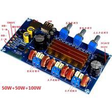 TPA3116 Bluetooth 2.1 Channel 2*50W+100W USB TF Decoder Digital Power Amp Board