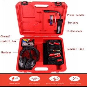 Image 2 - Combinazione Kit stetoscopio elettronico meccanico Auto strumento diagnostico rumore strumenti meccanici automatici a sei canali
