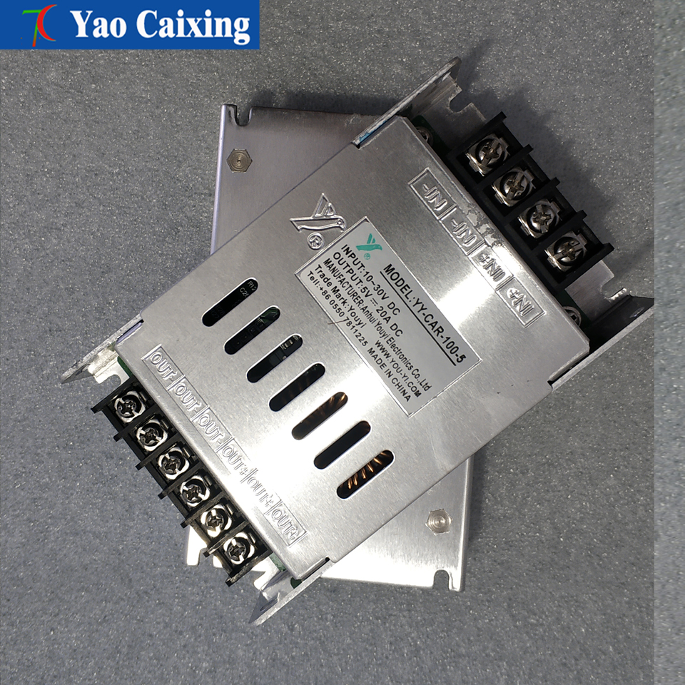Color Vehicle Low-voltage 10-30V DC Input Display Compatible With All Full Color  Modules