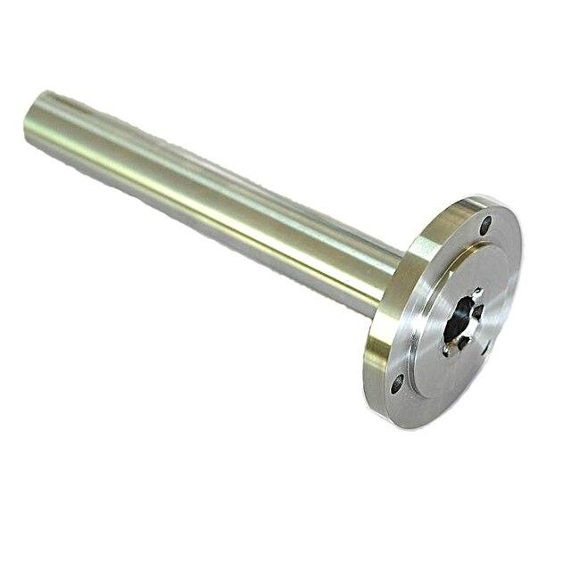 Torno de cuentas brida husillo k11, k12, k72 torno casero 80 mandril 100 portabrocas 16mm-19mm a través del eje del agujero núcleo endurecido duro