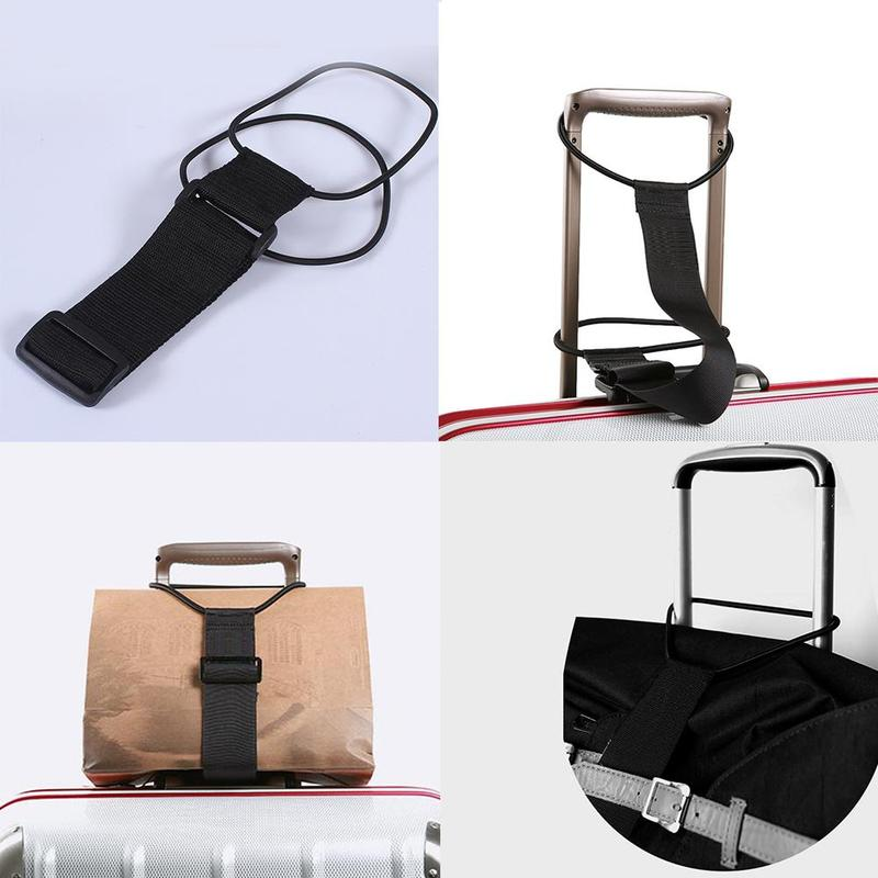 Luggage Strap Luggage Belts Elastic Telescopic Travel Bag Suitcase Fixed Belt Adjustable Baggage Security Travel Accessories