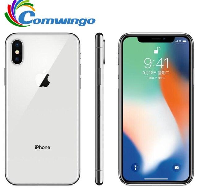 Original Apple iPhone X 64GB 256GB ROM 5.8 1