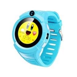 Bambini smart watch con il GPS CARCAM GW600 Blu