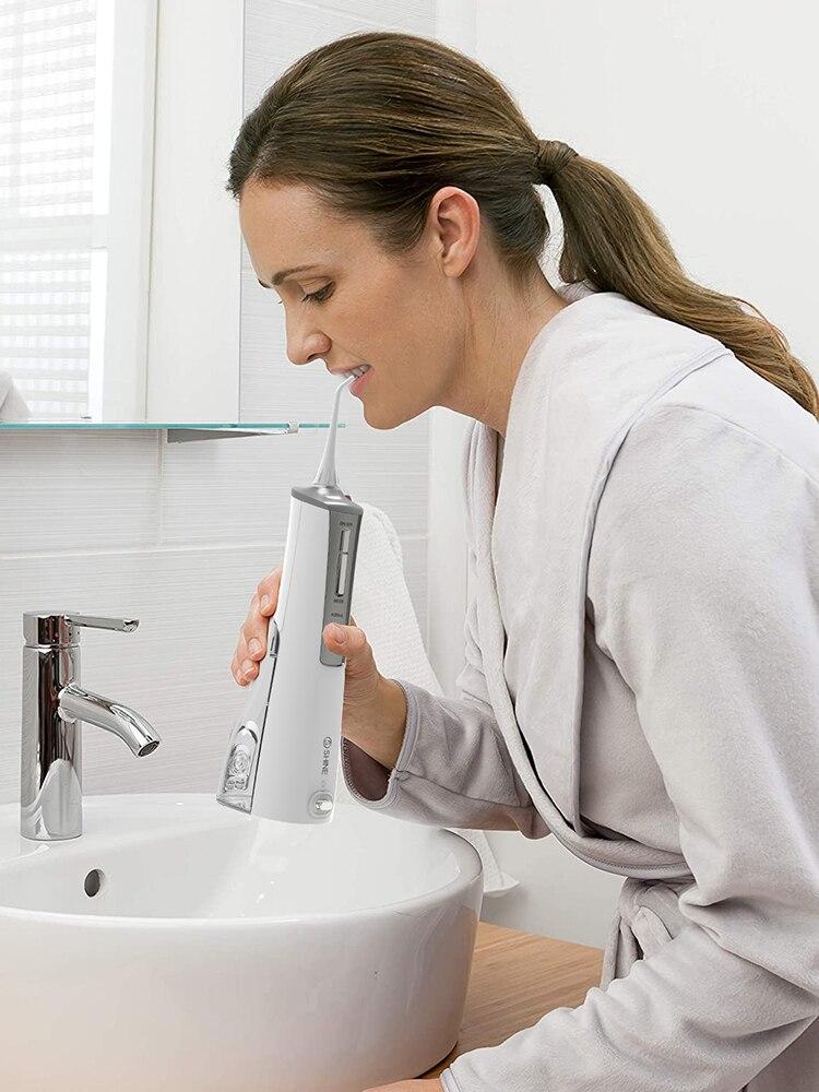 ShineSense SIO200 Oral Irrigator Water Flosser Dental Irrigator Teeth Cleaner Rechargeable